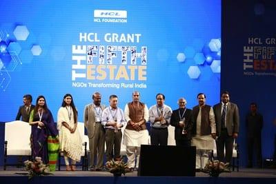 Hon'ble Home Minister Shri Rajnath Singh Felicitates HCL Grant 2018 Recipients