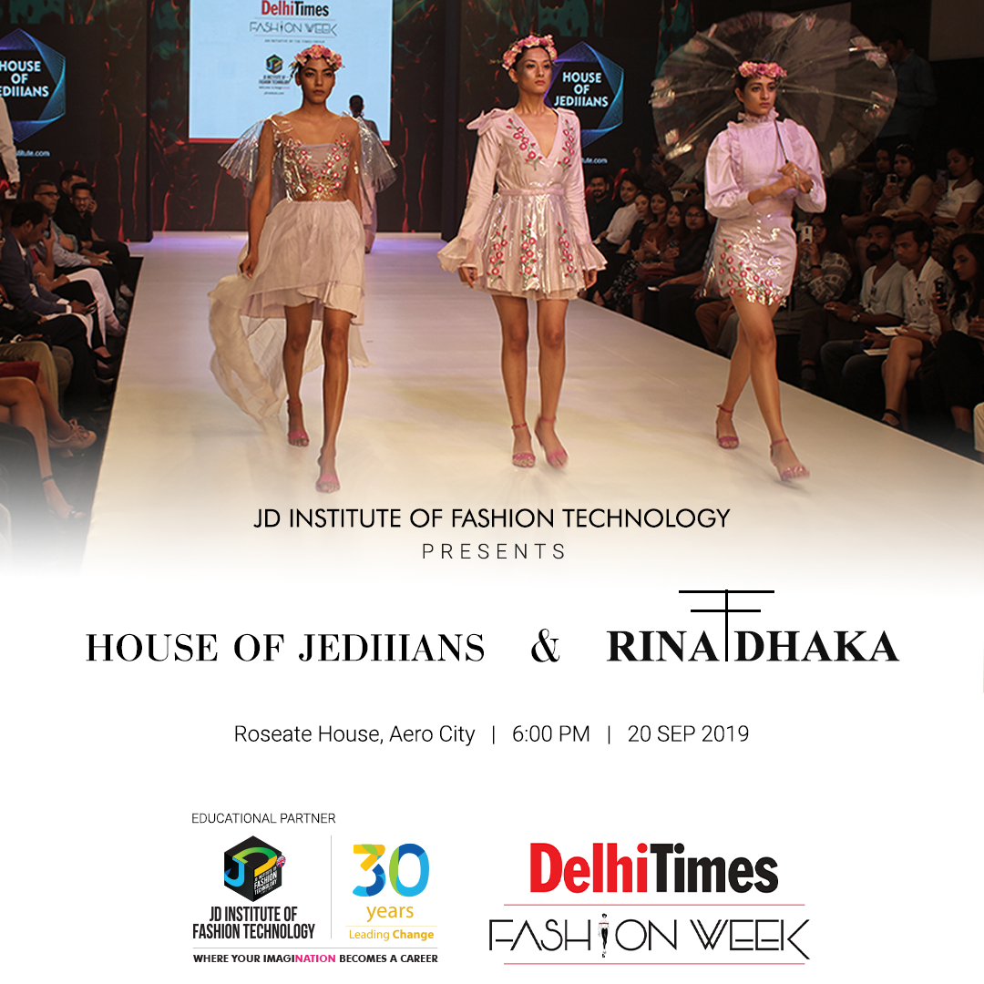 Jd Institute Of Fashion Technology Students To Showcase Their Designs In Capital Skilloutlook Com